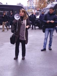 La prof.ssa Cristina Alessi (foto Valeria Spadini per bracebracebrace)