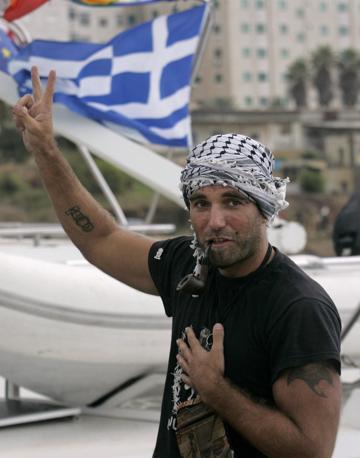 Vittorio Arrigoni sulla Free Gaza, ottobre 2008