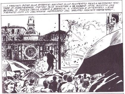 Un fascio di bombe (A. Castelli, M. Gomboli, M. Manara), Qpress 1975