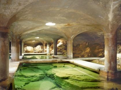 Lo splendido acquedotto romano alimentato dalla fonte di Mompiano (sito a2a)