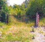 L'ingresso dell'area contaminata