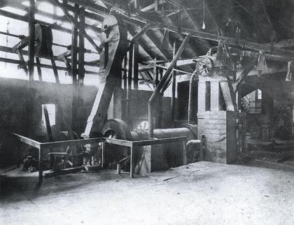 Foto storica della Caffaro di Brescia (www.industriaeambiente.it)