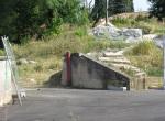 La recinzione aperta (foto Tornago)